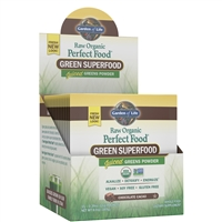 Perfect Food RAW Chocolate Single Serving Packet (10g Powder) Garden of Life