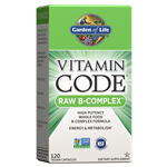 Vitamin Code RAW B-Complex (120 Capsules) Garden of Life