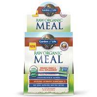 Raw Organic Meal Vanilla Chai Single Serving Packet Garden of Life