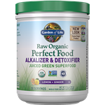Perfect Food RAW Alkalizer & Detoxifier (285g Powder) Garden of Life