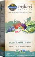 myKind Organics Men's 40+ Multivitamin (120 Tablets)