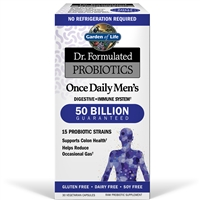 Dr. Formulated Men's Once Daily Probiotic (30 Capsules)
