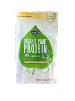 Organic Plant Protein Single Packet - Smooth NATURAL
