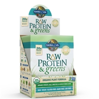 Raw Protein & Greens Single Packet - LIGHTLY SWEETENED