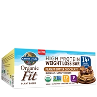 Organic Fit Bars - Peanut Butter Chocolate Garden of Life