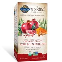 myKind Organics Organic Plant Collagen Builder (60 Tablets)
