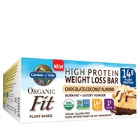 Organic Fit Bars - Chocolate Coconut Almond (box of 12) Garden of Life