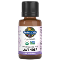 Lavender Essential Oil 0.5 fl oz Garden of Life