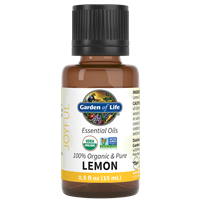 Lemon Essential Oil 0.5 fl oz Garden of Life