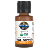 Orange Essential Oil 0.5 fl oz Garden of Life