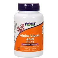 Alpha Lipoic Acid 250mg (120 VCaps)