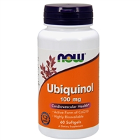 Ubiquinol 100mg (60 Softgels)