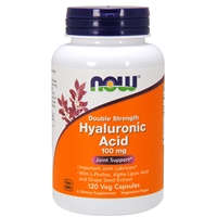 Hyaluronic Acid 100 mg (120 Vegetarian Capsules)