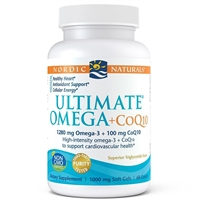 Ultimate Omega CoQ10 (60 Softgels) Nordic Naturals