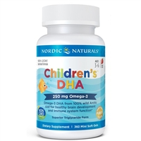 Children's DHA™ (360 Chewy Softgels) Nordic Naturals