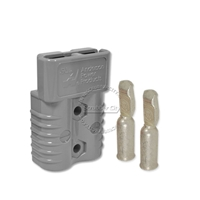 SB175 Anderson connector with 1/0 AWG contacts - Gray 36 Volts 6325G1
