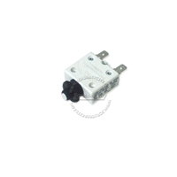 5A Circuit breaker 2 snap-in terminals OEM# 41423B