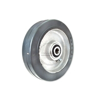 "Aluminum wheel fits Minuteman Center Hole size 1/2"". Size 6"" x 1-1/2"""
