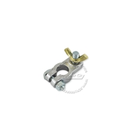 Battery Terminals, Wing Nut Clamp, Universal