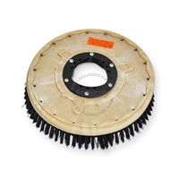 "13"" Poly scrubbing brush assembly fits KENT model Razor 26"
