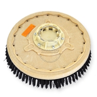 "19"" Poly scrubbing brush assembly fits Clarke / Alto (American Lincoln) model Focus 38"