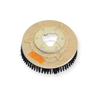 "11"" Poly scrubbing brush assembly fits HILD model P-13"