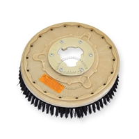 "13"" Poly scrubbing brush assembly fits HILD model CP-15"