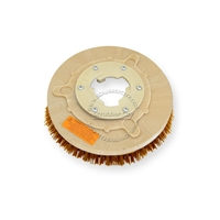 "10"" MAL-GRIT XTRA GRIT (46) scrubbing brush assembly fits HILD model L-12"