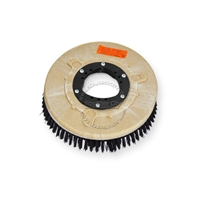 "12"" Poly scrubbing brush assembly fits KENT model Razor 24"