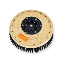 "13"" Poly scrubbing brush assembly fits MINUTEMAN (Hako / Multi-Clean) model 26-B"