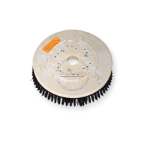 "12"" Poly scrubbing brush assembly fits POWERBOSS model SB/26"