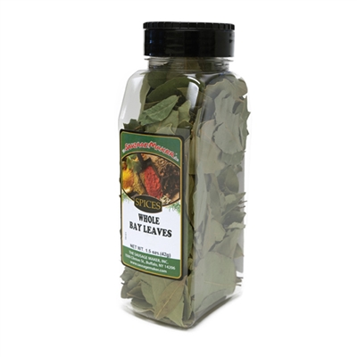 Bay Leaves, Whole, 1.5 oz.