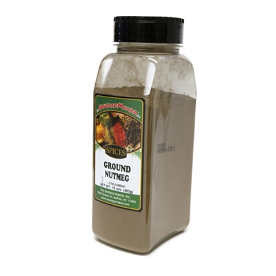 Nutmeg, Ground, 16 oz.