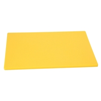 "Cutting Board, 18"" x 12"" x 1/2"", Yellow"
