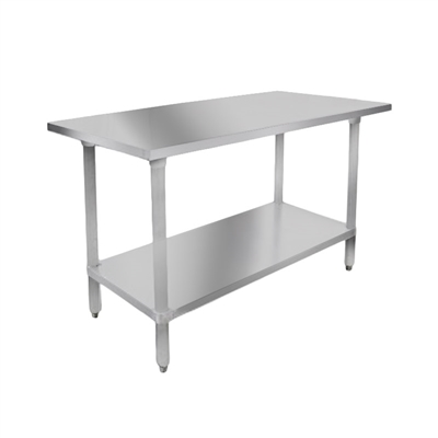 "Stainless Steel Table, 24"" x 60"""