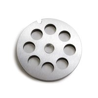 "#10/12 Stainless Steel 1/2"" Grinder Plate"