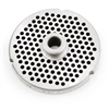 "#32 Stainless Steel 3/16"" Grinder Plate with Hub"