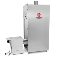 150 lb. Stainless Steel Gas Smoker