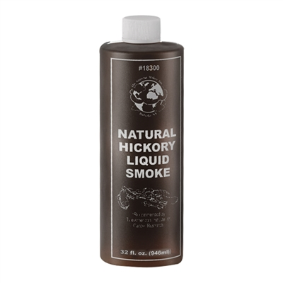 Natural Hickory Liquid Smoke, 32 oz.