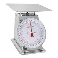 44 lb. Stainless Steel Dial Scale