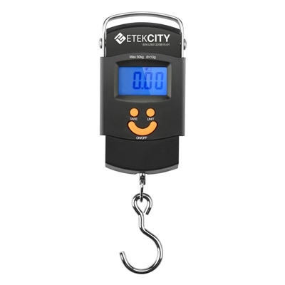 Etekcity Digital Hanging Scale, 110 lbs.