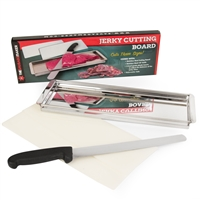 Jerky Cutting Board with Knife