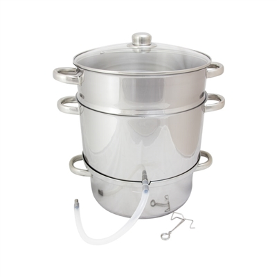 Stainless Steel Steam Juicer, 10.5 Qt.