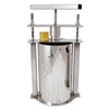 Stainless Steel Cheese Press, Large