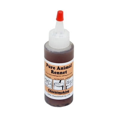 Liquid Animal Rennet, 2 oz.