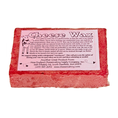 Red Cheese Wax, 1 lb.