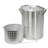 Aluminum Tall Pot & Basket