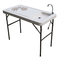 Portable Fish Table w/Faucet