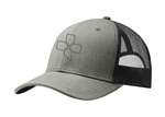 CX Mesh Trucker Cap, grey/black