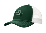 CX Mesh Trucker Cap, green/white